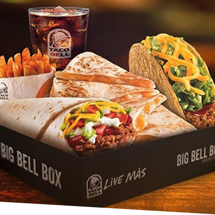 Boxes Tacobell